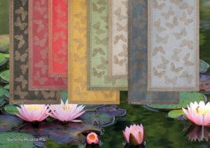 Butterfly Rustica – ubrus běhoun lněný