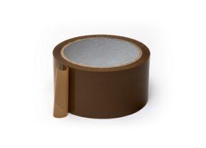Lepicí páska tichý akryl 48mm x 66m, hnědá