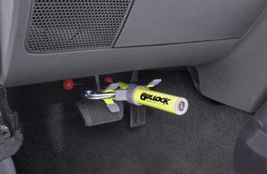 Bullock Automatico – zámek pedálu pro vozy s automatickou převodovkou