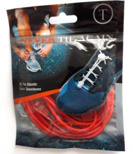 Červené elastické tkaničky