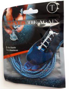 Elastické takničky Water weave modré