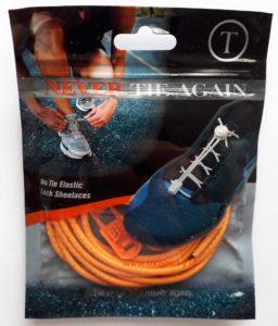 Reflexní elastické oranžové tkaničky