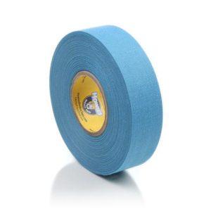 Světle modrá textilní hokejová páska