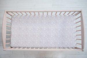Prostěradlo Sleepee We Care růžová 120×60 cm