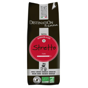 Cafe Destination Bio – Stretto Itailon 250g mletá