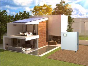 Hybridní / ostrovní elektrárna, záložní zdroj, úložiště NS Mayor 12 kWh, 5 kW