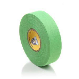 Světle zelená textilní hokejová páska