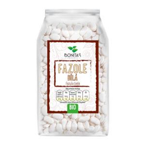 BONITAS Bio Fazole bílé – ledvinka 500g