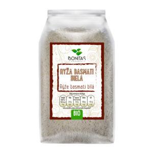 BONITAS Bio Rýže basmati bílá 500g