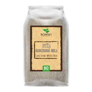 BONITAS Bio Rýže dlouhozrnná bílá 500g