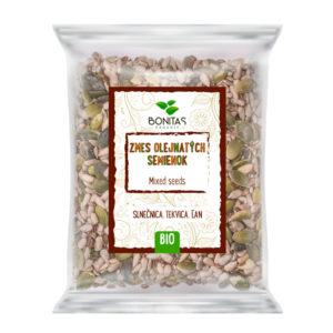 BONITAS Bio Směs olejnatých semínek 125g