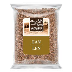 Farmland Len hnědý 100g
