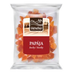 Farmland Papaya kostky 100g