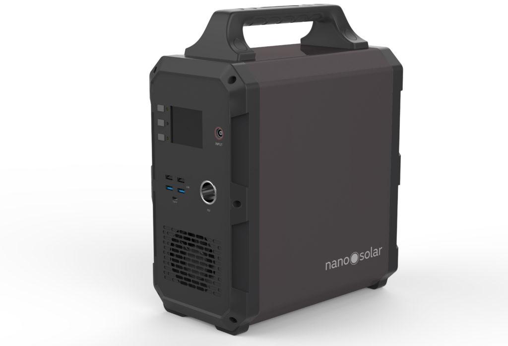 Nabíjecí stanice, solární bateriový generátor NS Compactor 1200
