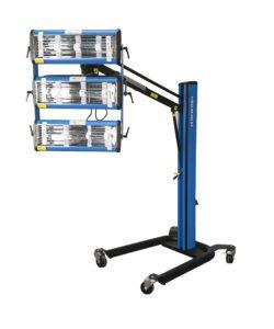 Krátkovlnný infrazářič pro sušení laků Procarosa PROFI-3W