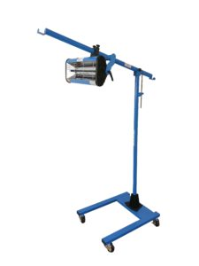 Krátkovlnný infrazářič pro sušení laků Procarosa PROFI-1A