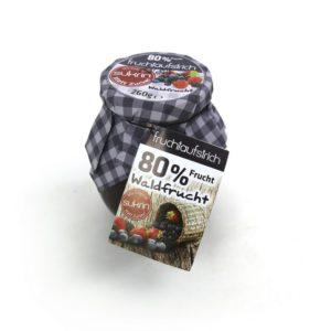 Marmeláda z lesních plodů 80% slazená Sukrinem