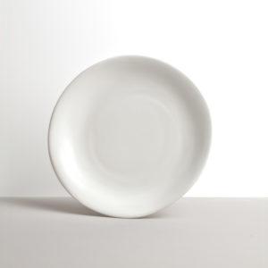 White round plate MODERN 26 x 24 cm