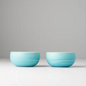 Round bowl Turquiose, 9 cm