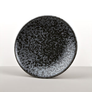 Round plate Black Pearl 25 cm