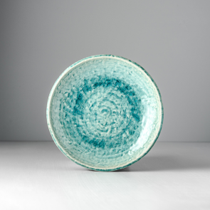 Round plate Turquoise 20 cm
