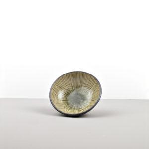Shallow bowl 13 cm green DK Green