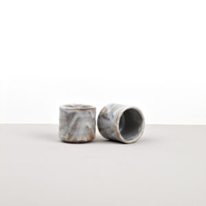 Sake Cup, Sake Cup, tall, white cloud