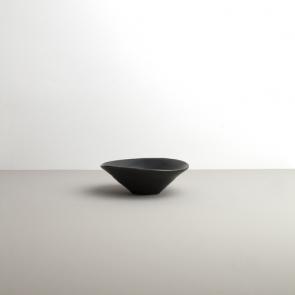 Bowl of irregular shape Modern black 12/14 cm
