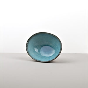 Oval bowl Sky Blue 17 cm