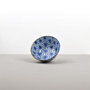 Medium bowl Starburst Indigo Ikat 13 cm