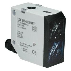 Optický snímač s potlačeným pozadím