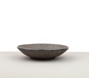 Large bowl Earth Black 24 cm
