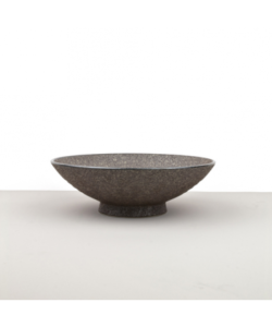 Large Bowl, EARTH BLACK, 24 x 8 cm