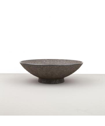 Large Bowl, EARTH BLACK, 24 x 8 cm