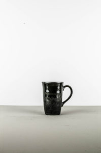 Large Cup, MATT, black