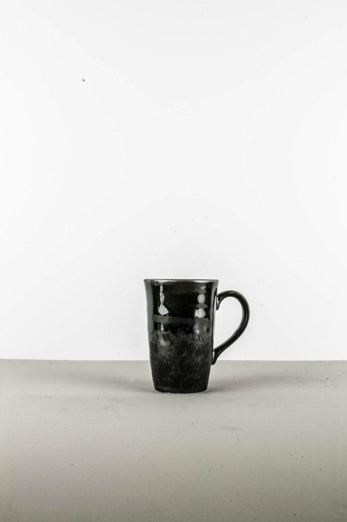 Large Cup, MATT, black