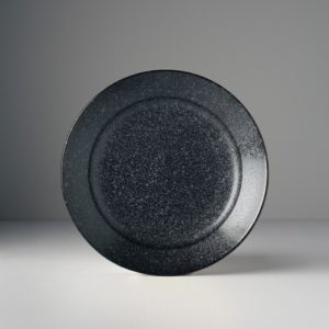 Large Round Plate Matt 23 x 4 cm