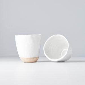 Tall Elegant Mug without Handle – white