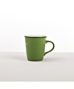 Mug COLOURBLOCK green, tall