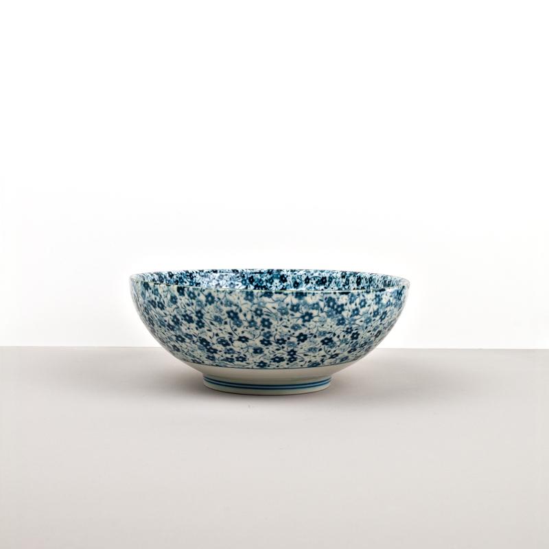 Large Bowl Blue Daisy 21,5 – 8 cm