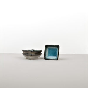 Small Sauce Square Bowl SKY BLUE 7 cm