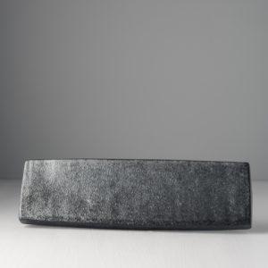 Sashimi Plate Craft Black 29 x 8 cm