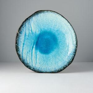 Large plate Sky Blue 27 cm
