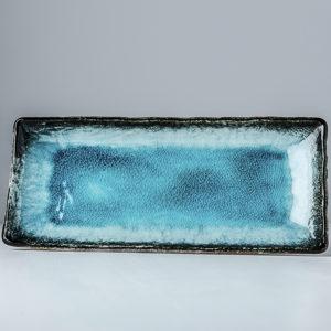 Sashimi Plate Sky Blue 29 x 12 cm