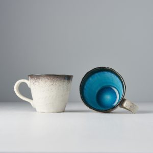 Mug with handle SKY BLUE