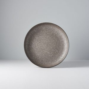 Earth Plate with High Rim 22 x 4,5 cm