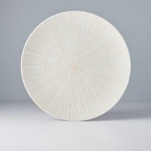 Bisque Converging – Plate Round 29 cm