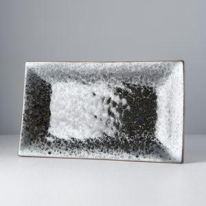 Black Pearl Platter Rectangular 33 x 19 cm
