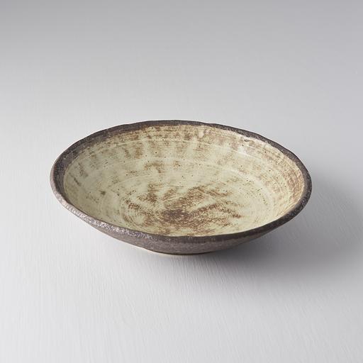 Nin-Rin Earth Shallow Open Bowl 24 cm