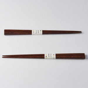 Chopsticks Natural Wood Dark Grained